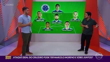 Henrique Fernandes monta ataque ideal para o Cruzeiro de Felipe Conceição - Henrique Fernandes monta ataque ideal para o Cruzeiro de Felipe Conceição