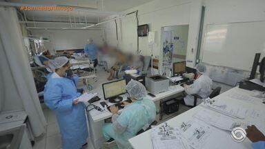 Porto Alegre busca na iniciativa privada parceria para operar Hospital Álvaro Alvim - Segundo a secretaria municipal de saúde, o prédio tem estrutura para receber até 20 leitos de UTI e entre 60 e 80 leitos clínicos para pacientes com Covid.
