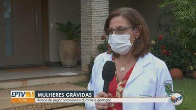 Saiba o risco do novo coronavírus para mulheres grávidas - Silvana Quintana, ginecologista, comenta o assunto.
