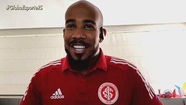 Patrick, o Pantera Negra colorado, quer continuar sendo protagonista no Inter - Confira a entrevista exclusiva do volante para o Globo Esporte.