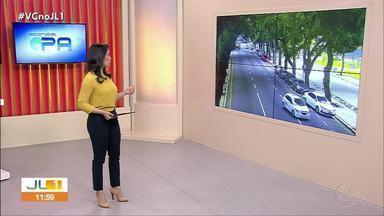 Veja o movimento no trânsito de Belém pelo quadro Radar - Veja o movimento no trânsito de Belém pelo quadro Radar