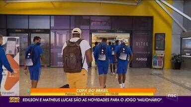 Avaí a caminho de Cascavel em busca do prêmio da Copa do Brasil - Avaí a caminho de Cascavel em busca do prêmio da Copa do Brasil