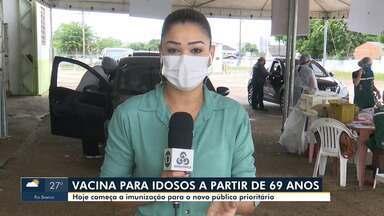 Rio Branco começa a vacinar idosos a partir de 69 anos - Rio Branco começa a vacinar idosos a partir de 69 anos
