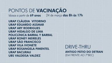 Veja os pontos de vacinação contra a Covid-19 em Rio Branco - Veja os pontos de vacinação contra a Covid-19 em Rio Branco