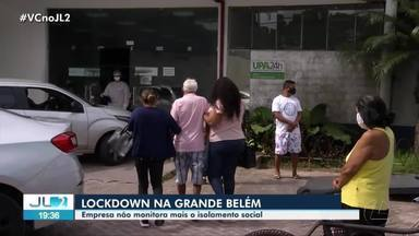 Em pleno 'lockdown', tecnologia que monitora isolamento social deixa de ser aplicada no PA - Serviço foi suspenso no estado.