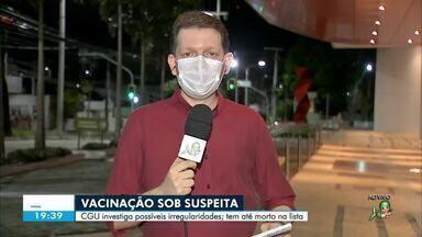 CGU investiga possíveis irregularidades no processo de imunização no Ceará - Confira mais notícias em g1.globo.com/ce
