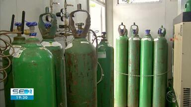 Materninadade Santa Isabel trabalha pra ampliar produção de cilindros de oxigênio - Materninadade Santa Isabel trabalha pra ampliar produção de cilindros de oxigênio