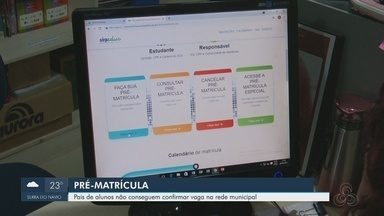 Pais de alunos não conseguem confirmar vagas para a rede municipal de ensino em Macapá - Pais de alunos não conseguem confirmar vagas para a rede municipal de ensino em Macapá