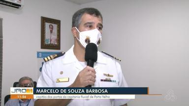 Capitão dos Portos da Capitania Fluvial fala sobre atendimento a ribeirinhos - O representante da comunidade ribeirinha carente que tiver essa demanda pode ligar para o telefone (69) 99926-0897.