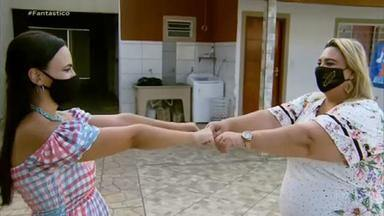 Depois de uma vida separadas, duas irmãs se encontram pela primeira vez - Jéssica e Fernanda se conheceram na terça-feira passada (23), sem abraço e nem beijo, mas com uma conversa franca e emocionante.