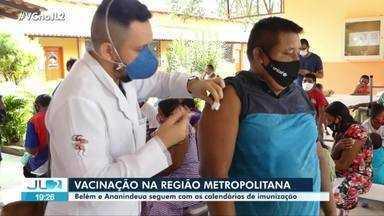 Belém e Ananindeua avançam na imunização contra Covid-19 - Belém e Ananindeua avançam na imunização contra Covid-19