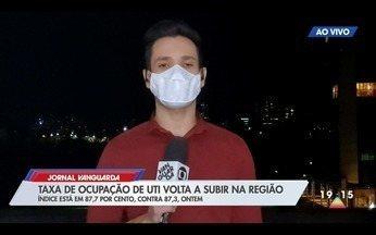 Veja a taxa de ocupação de leitos no Vale do Paraíba - Confira a reportagem exibida pelo Jornal Vanguarda.