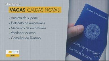 Confira vagas de trabalho em Caldas Novas e Morrinhos - Fique atento às oportunidades de emprego.