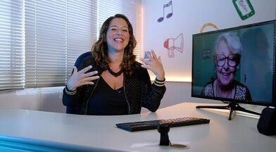 Roberta Campos bate um papo com a finalista de Campinas (SP) do 'The Voice +' - Catarina Neves está na final do programa representando a nossa região.