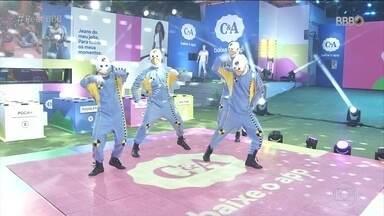 Dummys demonstram como é a Prova do Líder Maratona de Dança C&A no BBB21 - Dummys demonstram como é a Prova do Líder Maratona de Dança C&A no BBB21