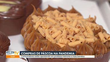 Consumidores procuram chocolates mais baratos e menores na Páscoa - Associação Paulista de Supermercados estima vender só 5,5% a mais que no ano passado
