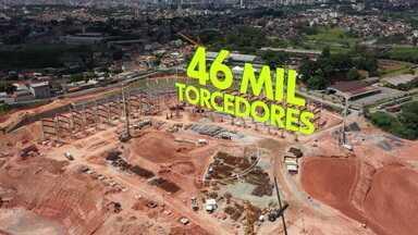 Com dívida na casa de R$ 1 bilhão, Atlético-MG conta com novo estádio para equilibrar as finanças - Com dívida na casa de R$ 1 bilhão, Atlético-MG conta com novo estádio para equilibrar as finanças
