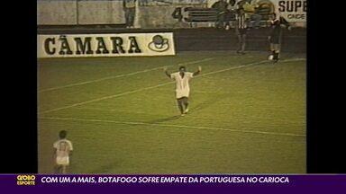 Botafogo homenageia Agnaldo Timóteo, e Baú do Esporte relembra invasão de cantor em jogo do alvinegro - Botafogo homenageia Agnaldo Timóteo, e Baú do Esporte relembra invasão de cantor em jogo do alvinegro