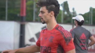 Recuperado de lesão, Rodrigo Caio deve estrear na temporada contra o Madureira - Recuperado de lesão, Rodrigo Caio deve estrear na temporada contra o Madureira