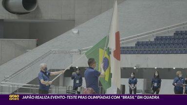 """Japão realiza evento-teste para Olimpíadas com """"Brasil"""" em quadra - Japão realiza evento-teste para Olimpíadas com """"Brasil"""" em quadra"""