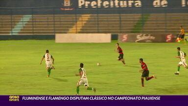 Flamengo e Fluminense voltam a disputar clássico piauiense após mais de 40 anos - Flamengo e Fluminense voltam a disputar clássico piauiense após mais de 40 anos