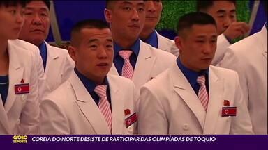 Coreia do Norte desiste de participar dos Jogos Olímpicos de Tóquio - Coreia do Norte desiste de participar dos Jogos Olímpicos de Tóquio