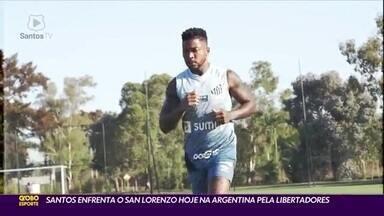 Santos enfrenta San Lorenzo pela Libertadores - Santos enfrenta San Lorenzo pela Libertadores