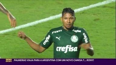 Palmeiras viaja para Argentina com um novo camisa 7...Rony! - Palmeiras viaja para Argentina com um novo camisa 7...Rony!