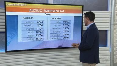 Começam pagamentos da nova rodada do Auxílio Emergencial em Goiás - Tire suas dúvidas sobre o auxílio.