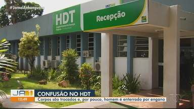 Hospital é suspeito de trocar corpos em Goiânia - Por pouco, homem não é enterrado por engano.