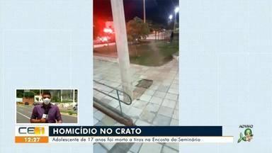 Crato e Assaré registram assassinatos de adolescentes de 17 anos - Saiba mais em g1.com.br/ce