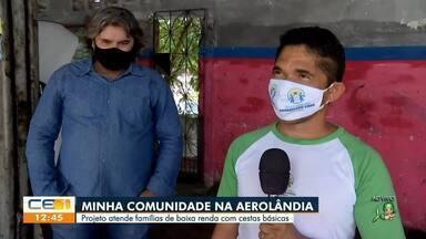 Minha Comunidade visita bairro Aerolândia - Saiba mais em g1.com.br/ce