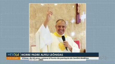 Morre 2º padre vítima de Covid em Maringá em um mês - Ele era pároco no Jardim América.