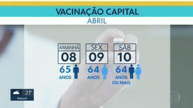 Mais de 1,4 milhão de pessoas receberam a primeira dose da vacina contra Covid no RJ - Especialistas, no entanto, alertam que isso não significa relaxar nas medidas de proteção.