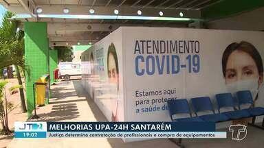Justiça determina contratação de profissionais e compra de equipamentos para UPA 24h - Saiba mais detalhes na reportagem de Daniele Gambôa.