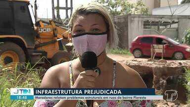 Moradores do bairro Floresta, em Santarém, relatam problemas em vias - Veja mais detalhes na reportagem.