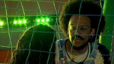 João Luiz analisa motivo da eliminação de Rodolffo no BBB21 - O brother diz: 'Não quero ficar nessa posição de dúvida'