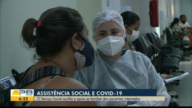 Conheça a função e a importância dos assistentes sociais durante a pandemia - O Serviço Social acolhe e apoia famílias de pacientes internados