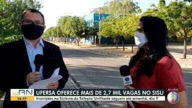 UFERSA oferece mais de 2 mil vagas no SISU - UFERSA oferece mais de 2 mil vagas no SISU
