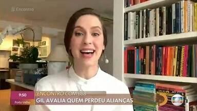 Sophia Abrahão comenta acontecimentos no 'BBB21' com Fátima e André - Durante a festa da líder Viih Tube nesta madrugada, galera conversou sobre os desdobramentos do jogo e estratégias para o próximo paredão