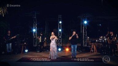 Thaeme e Thiago cantam 'Coração Aperto' - Confira