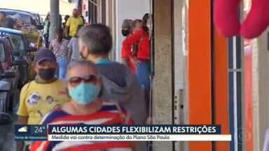 Algumas cidades do ABC e interior flexibilizam restrições - Medida vai contra determinação do Plano São Paulo
