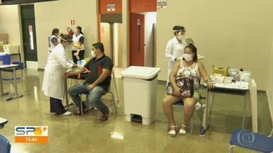Prefeitura faz última testagem do coronavírus em funcionários da rede pública da capital - No início da semana houve enormes filas para a testagem, mas o movimento nesta quinta-feira (08) foi tranquilo
