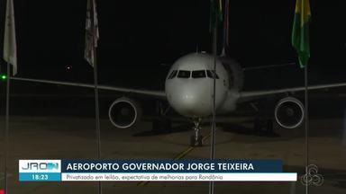 Notícia da privatização de aeroporto é bem recebida por classes produtivas - O principal interesse é que, com novos investimentos, ele possa ser ampliado e alfandegado, permitindo assim voos internacionais.