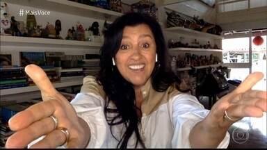 Programa de 09/04/2021 - Ana Maria Braga conversa com Regina Casé sobre o final da novela 'Amor de Mãe'. Dona Lurdes conquistou o Brasil com seu amor pela família e pela busca incessante pelo filho Domênico