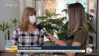 Hemominas realiza coleta externa de sangue em Barbacena, Muriaé e Leopoldina - A agenda para os doadores já foi divulgada. Confira a entrevista com a funcionária do setor de captação do Hemominas, Rosani Martins.