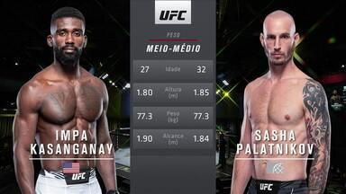 UFC Vettori x Holland - Impa Kasanganay x Sasha Palatnikov - UFC Vettori x Holland - Impa Kasanganay x Sasha Palatnikov