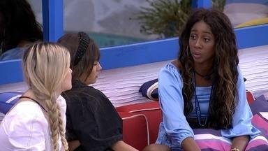 Camilla de Lucas desabafa com sisters sobre seu voto em Pocah no BBB21 - Camilla de Lucas desabafa com sisters sobre seu voto em Pocah no BBB21