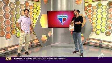 Tom Alexandrino detalha busca do Fortaleza por novo técnico - Saiba mais em ge.globo/ce