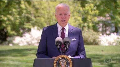 Biden vai anunciar plano de US$ 1,8 trilhão para ajudar famílias em discurso no Congresso - Presidente dos EUA vai fazer primeiro pronunciamento a deputados e senadores desde que tomou posse. Número de convidados foi limitado para garantir o distanciamento social em meio à pandemia